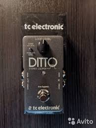 <b>Педаль эффектов TC Electronic</b> Ditto Stereo Looper - Хобби и ...