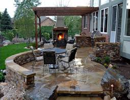 charming outdoor patio ideas on outdoor with stone patio floor tiles backyard ideas yard conglua awesome captivating design patio ideas diy
