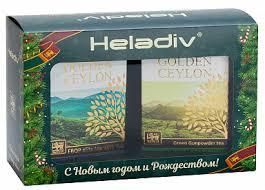 Купить Новогодний подарочный набор <b>Heladiv</b> (<b>Чай черный</b> ...