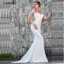 <b>LORIE</b> 2019 <b>Mermaid Wedding Dresses</b> Turkey Appliques Lace ...
