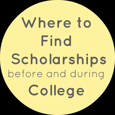 looking for scholarships for school well here are a few places colleges
