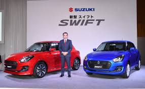 new car launches in chennaiAll New Suzuki Swift Revealed In Japan Will Go On Sale In India