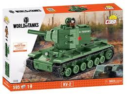 Купить <b>Конструктор Cobi</b> World of Tanks 3039 Танк КВ-2 в ...