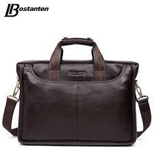 Bostanten 2019 <b>New Fashion Genuine Leather</b> Men Bag Famous ...