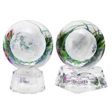 <b>moon crystal ball</b> with light effect base 3d engraving colorful ...