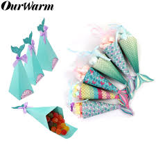<b>OurWarm Under the Sea</b> Party Candy Boxes Little Mermaid Party ...