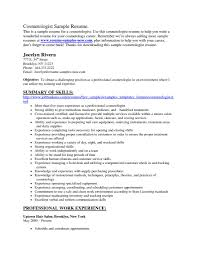 sample cosmetologist resume cipanewsletter sample resume for hairstylist cosmetology student resume