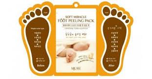 Купить <b>Маска</b>-<b>пилинг для ног</b> Mijin <b>MJ</b> Care Soft Miracle Foot ...
