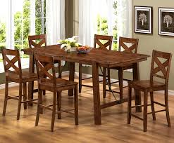 table bar height chairs diy: kitchen tables bar height great dining table set counter sets rustic wooden six chairs and
