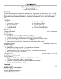 special events coordinator resume reference letter template word event coordinator resume sample leave application template event planner resume example my event coordinator resume sample