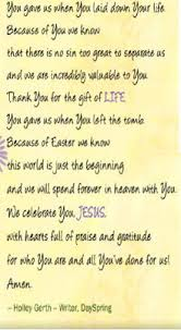 Easter Prayer Quotes. QuotesGram via Relatably.com