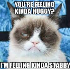 Stabby Cat! | Mad about Grumpy! | Pinterest | Grumpy Cat, Grumpy ... via Relatably.com