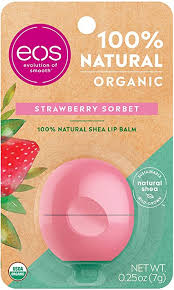 eos USDA Organic Lip Balm - Strawberry Sorbet | Lip ... - Amazon.com