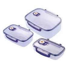 Набор вакуумных <b>контейнеров Bekker</b> BK-5100, 3 предмета ...