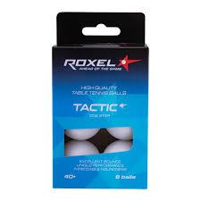<b>Мяч</b> для настольного тенниса <b>Roxel Tactic</b> 1* белый, <b>72 шт</b> ...