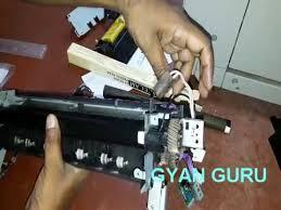 how to change <b>fixing unit</b> film of canon copier machine part 2 ...