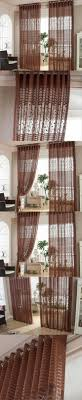 room curtains catalog luxury designs: luxury window curtains modern living room curtain embroidered voile curtains roller blinds dark brown