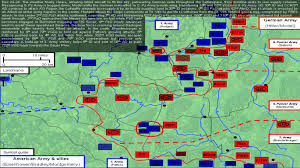 battle of the bulge the art of battle army was achieved so quickly because it was done informally by a telephone conversation between the two commanders and lifelong friends simpson and hodges