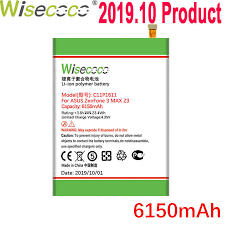 WISECOCO 4450mAh <b>C11P1507 Battery</b> For ASUS ZenFone Zoom ...