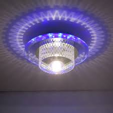 modern led crystal aisle lights entranceway ceiling light fitting