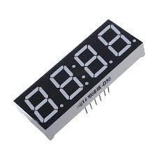 10Pcs <b>7</b>-<b>Segment 0.56 Inch</b> 4 Digit 12 Pins Red LED Display ...