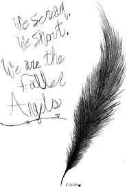 black veil brides fallen angels feather drawing gothicburrito black veil brides fallen angels feather drawing gothicburrito