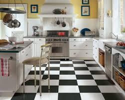 Black White Kitchen Designs Black And White Kitchen Tiles Outofhome