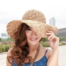 <b>Hollow</b>-out Floral Decorated Straw Hat (с изображениями ...