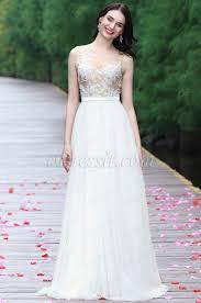 eDressit White <b>Sleeveless Embroidered Wedding Dress</b> (01170107)