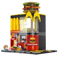 <b>hot city creators mini</b> Street view McDonald restaurant hamburger ...