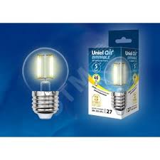 <b>Лампа</b> светодиодная <b>LED</b> 5вт 200-250В шар диммируемый ...