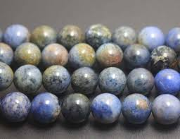 Sunset Dumortierite Smooth and Round Beads4mm 6mm <b>8mm</b> ...