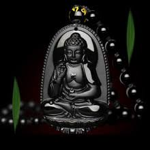 Buddha <b>Necklace Obsidian</b> Promotion-Shop for Promotional ...