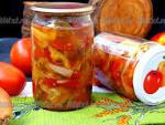 Заготовки на зиму донской салат рецепт