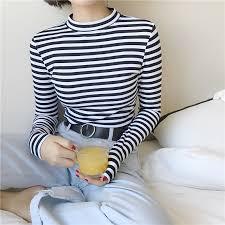 <b>2019 Korean</b> Style Long Sleeve T Shirts Women New <b>Hot Sale</b> ...