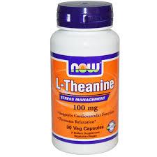 Now Foods, L-Theanine, 100 mg, 90 Veg Capsules в 2020 г ...