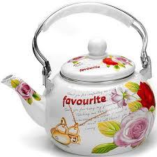 <b>Чайник</b> эмалированный <b>2.5л</b> Mayer&Boch Цветы MB-26492 ...
