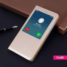 <b>Flip Cover Smart Leather</b> Phone Case For Xiaomi Redmi Note 4X 4 ...