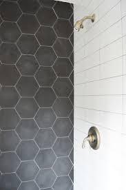 Hexagon Tile Floor Patterns Best 25 Hex Tile Ideas On Pinterest Subway Tile Bathrooms