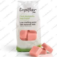 <b>Воск</b> горячий <b>Розовый</b> 1 кг, <b>Depilflax</b> купить в Сюрэль
