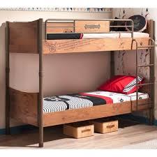 <b>Кровать двухъярусная</b> 90х200 см BLACK <b>PIRATE Cilek</b>