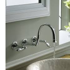 basin faucets wall mounted brass bathroom sink mixer tap