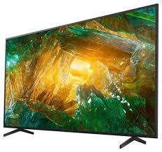 """Купить <b>Телевизор Sony KD</b>-<b>55XH8005</b> 54.6"""" (2020) черный по ..."""