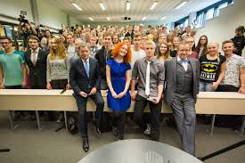 viljandi high school students interview presidents of and president toomas hendrik ilves ed viljandi high school where they spent one lesson answering questions that had been submitted by the students