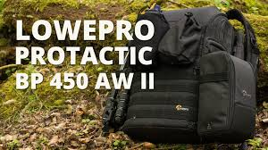 The <b>Lowepro ProTactic BP</b> 450 AW II