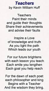 Teacher Poems on Pinterest | Preschool Poems, Teacher Quotes and ...