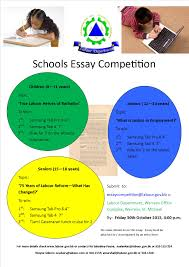government of ministry of labour news schools essay labour news schools essay competition