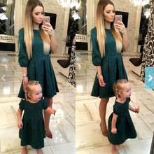 <b>Mother daughter dresses</b> Fashion Family Matching <b>Outfits</b> Slim ...