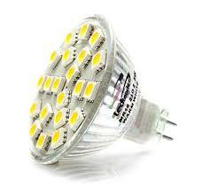 AC/<b>DC</b> 12V-<b>24V</b> 5.25W 21x <b>5050</b> cluster <b>LED</b> light bulb MR16 GU5 ...