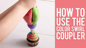 Learn How To Pipe <b>3</b>-<b>Color</b> Icing Swirls | <b>NEW 3</b>-<b>Color</b> Coupler ...